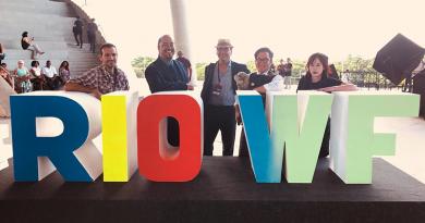 Foto de grupo previa a la ceremonia de entrega de premios de Rio WebFest